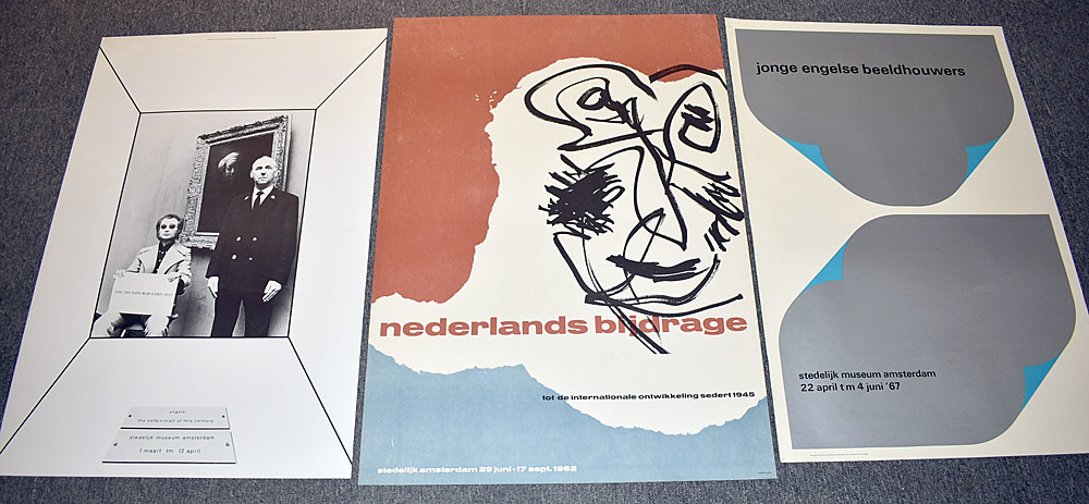 150. Three Stedelijk Museum Exhibition Posters. $738.
