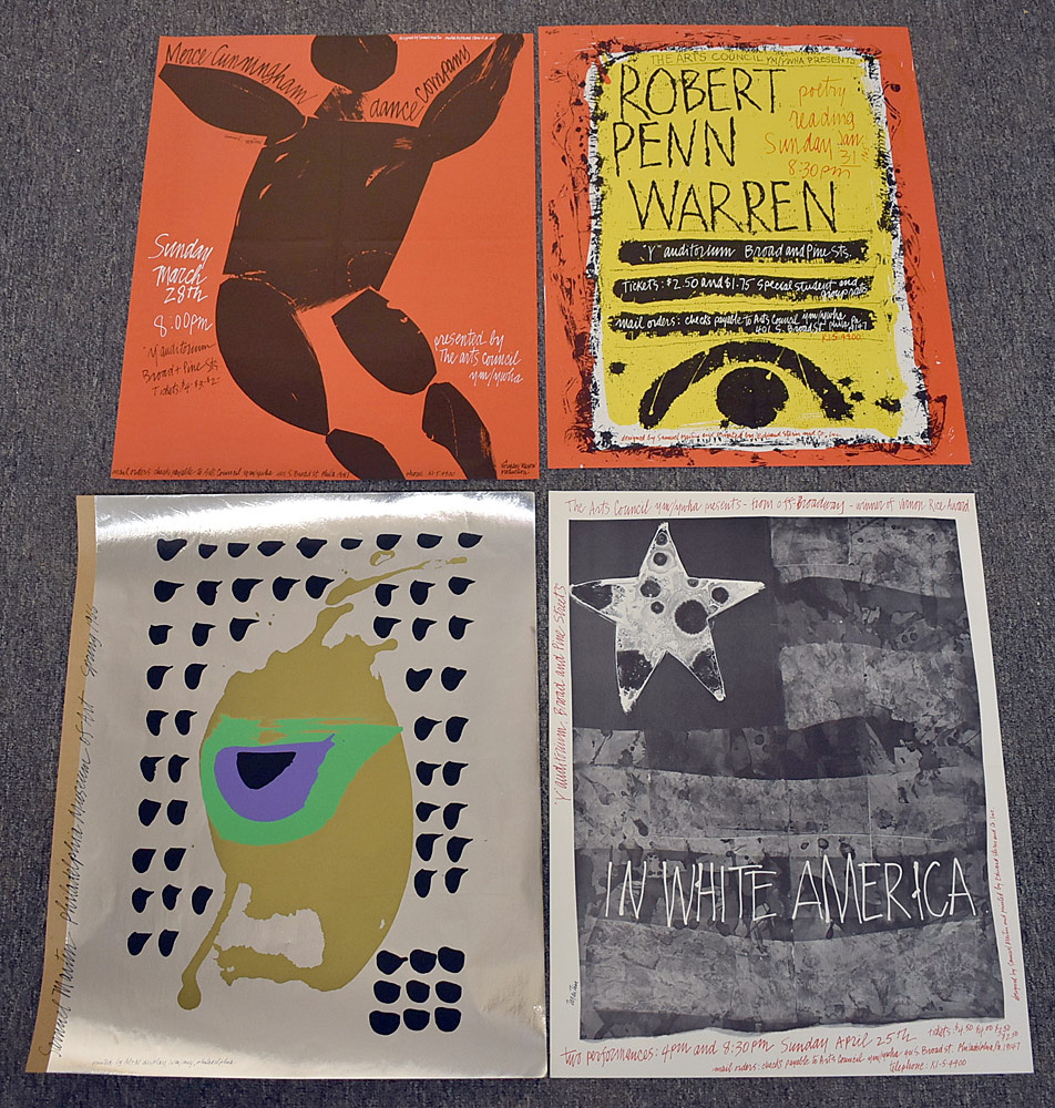 163. Four Samuel Maitin Posters. $98.40