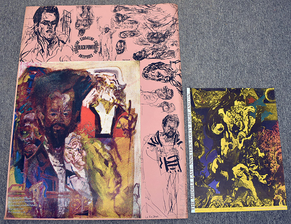 168. Two Feliks Topolski Signed Lithograph Posters. $36.90
