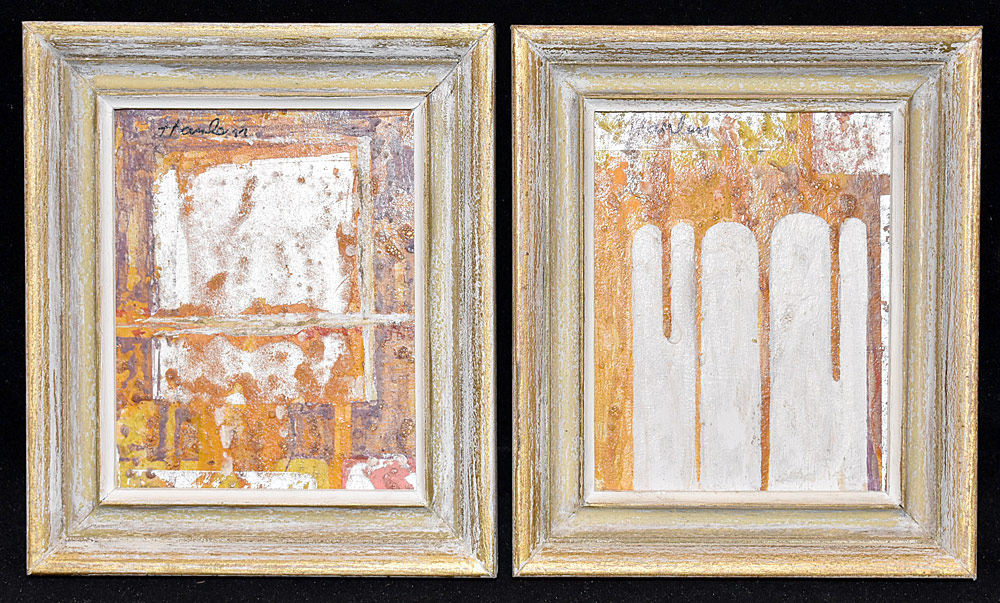 180. Two John Hanlen Works. $184.50