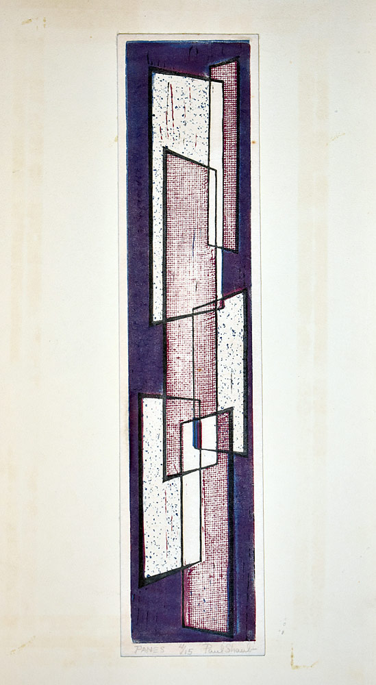 228. Paul Shaub Engraving, Panes. $36.90