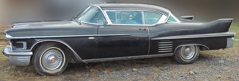 1958 Cadillace Series 62 Coupe. $18,880