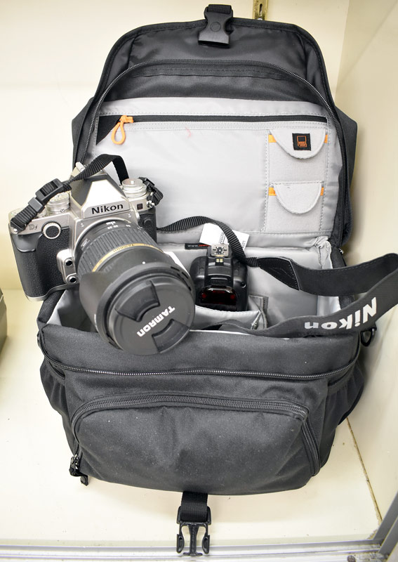 Nikon DF Camera with Tamron Lens, Bag, & Accessories. $1,610