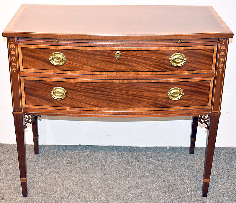 31. Baker Federal-style Inlaid Mahogany Server | $501.50