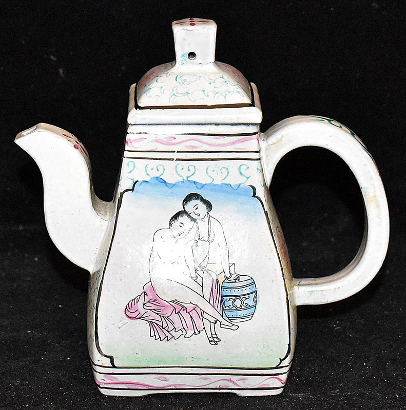 51. Chinese Glazed Yixing Tea Pot | $86.10
