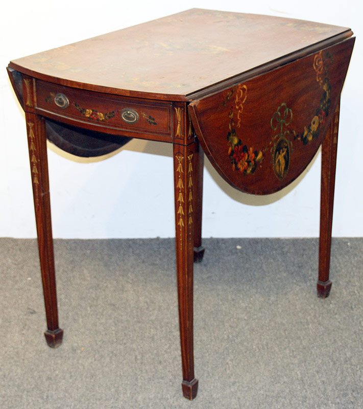 80. Adams Paint-decorated Pembroke Table | $799.50