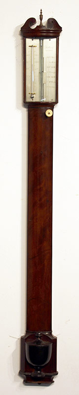 91. Dollond, London Mahogany Stick Barometer | $1,652