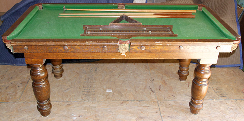 93. English Snooker Table | $413