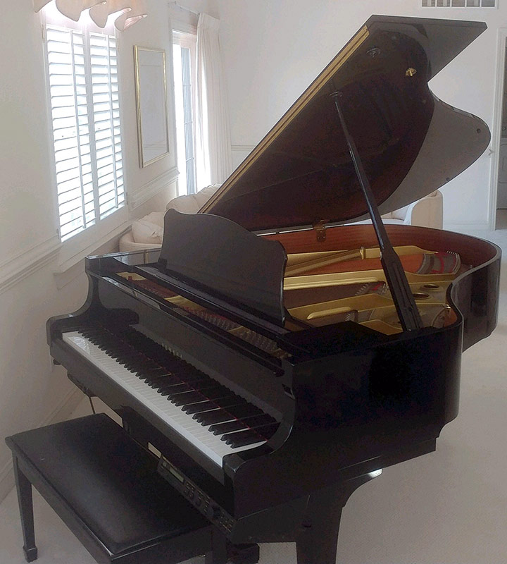 103. Yamaha Model G2 Baby Grand Piano, #F5342181 | $3,304