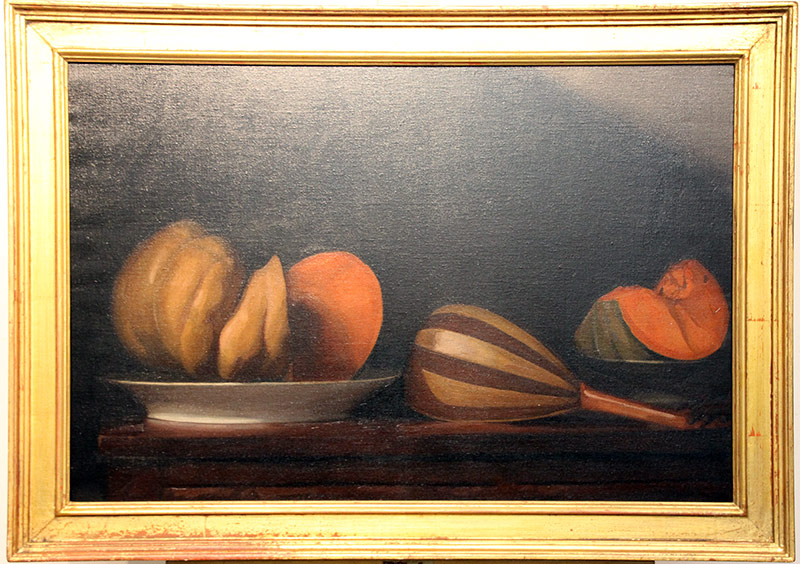119. Paul DuSold. Oil/Canvas, Still Life with Melons | $147.50