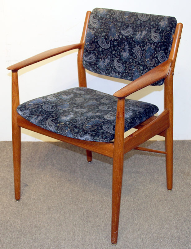 136. Sibast Danish Teak Arm Chair | $215.25