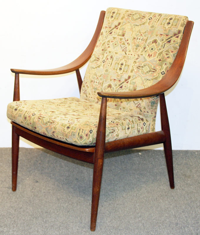 137. Peter Hvidt/John Stuart Danish Teak Lounge Chair | $944