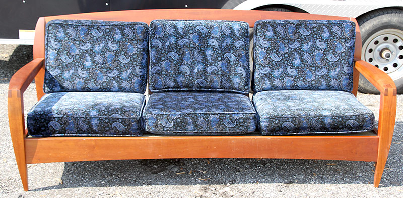 169. Artisan Settee with Open Dovetail Construction | $354