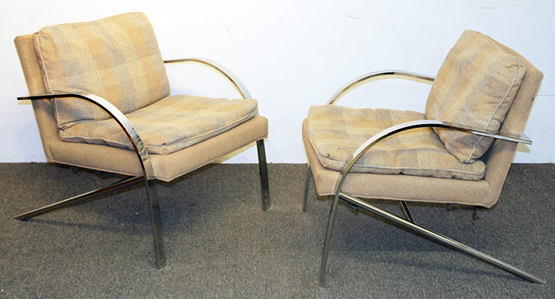 194. Pair of Bernhardt Furniture Flair Lounge Chairs | $383.50