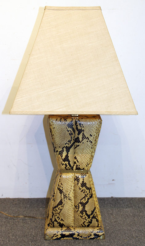 196. Modernist Python Table Lamp | $184.50