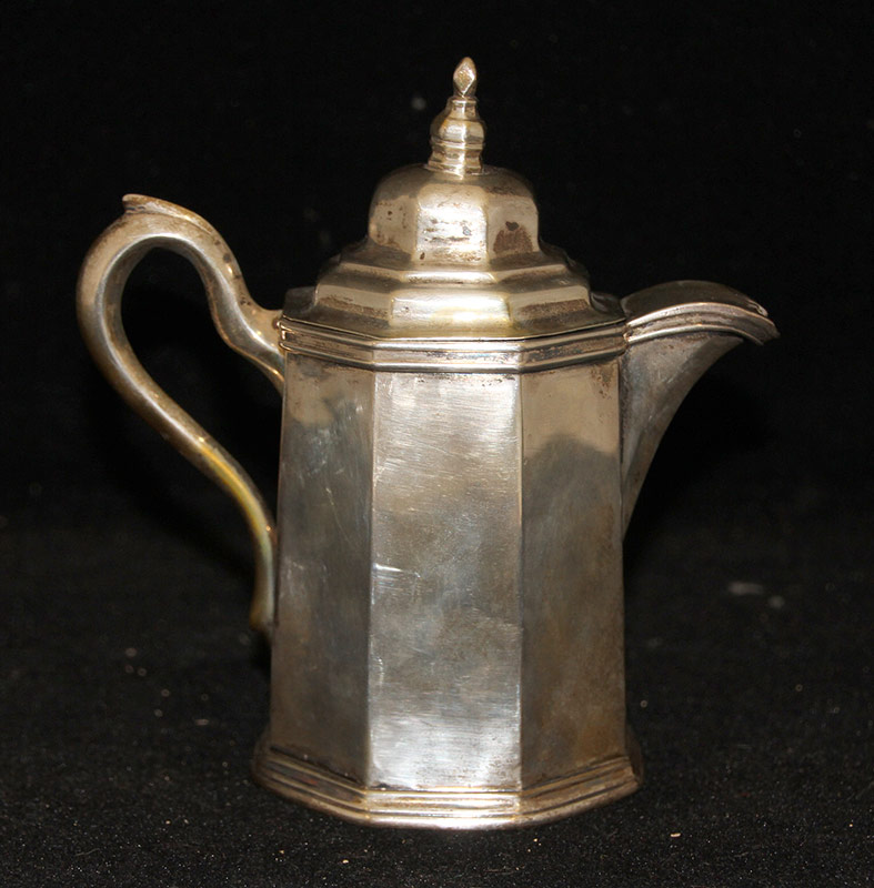 245. Harris & Stanwood Coin Silver Cream Pitcher | $246.00