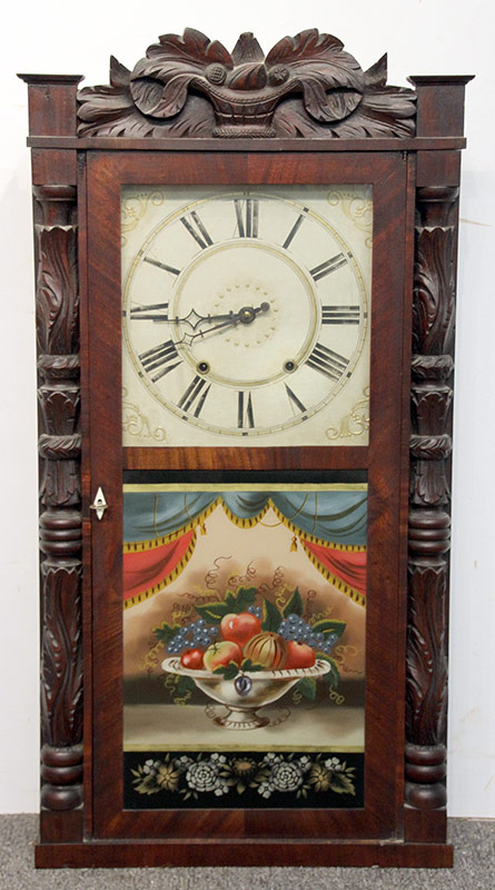 255. Riley Whiting Shelf Clock, Circa 1830 | $118