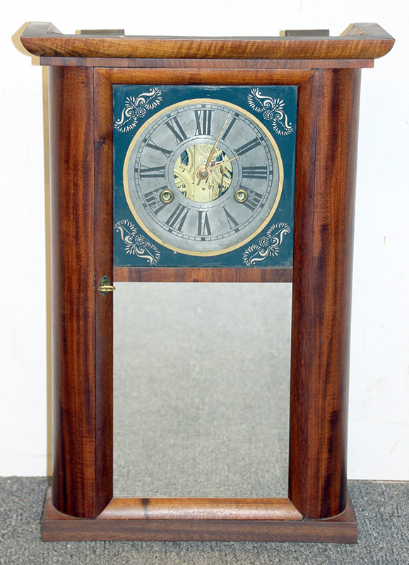 258. C. & N. Jerome Shelf Clock with Mirror | $147.50