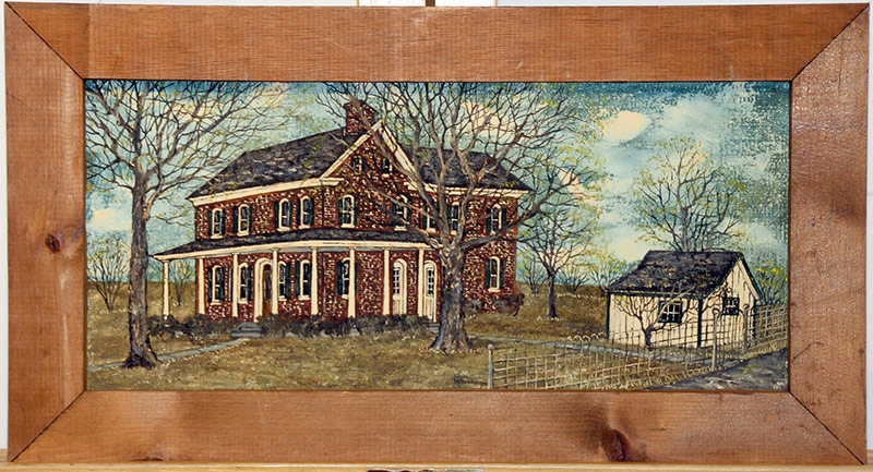 285. Delores Hackenberger. Oil/Canvas, Farmhouse | $123
