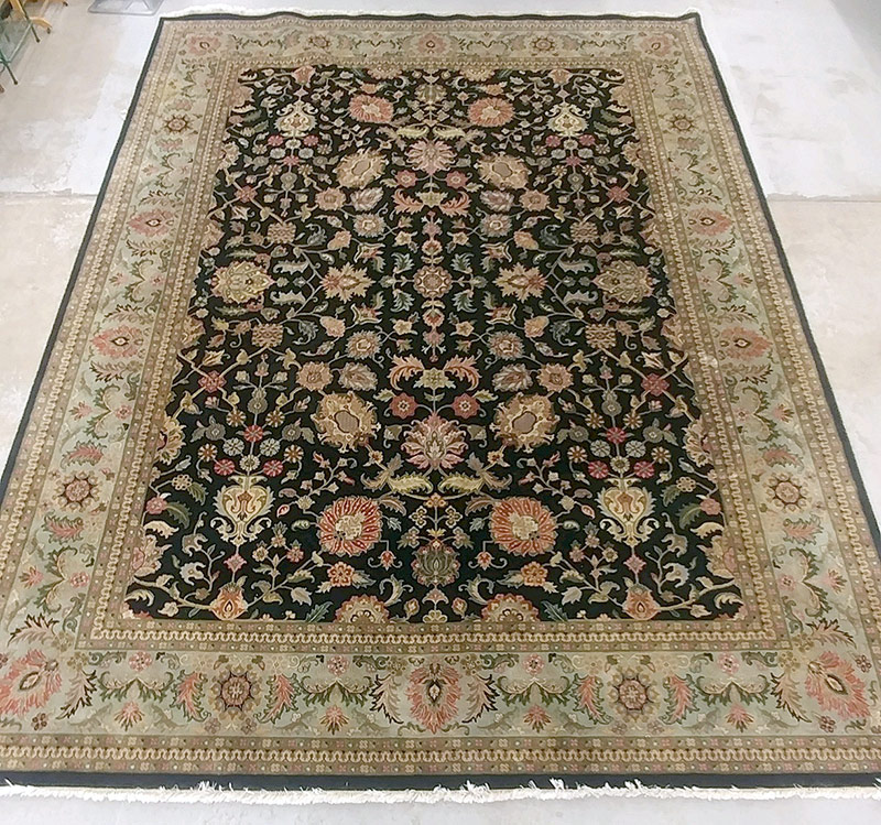 297A. Pakistani Room-Size Carpet, 15ft 6in. x 11ft. | $1,180
