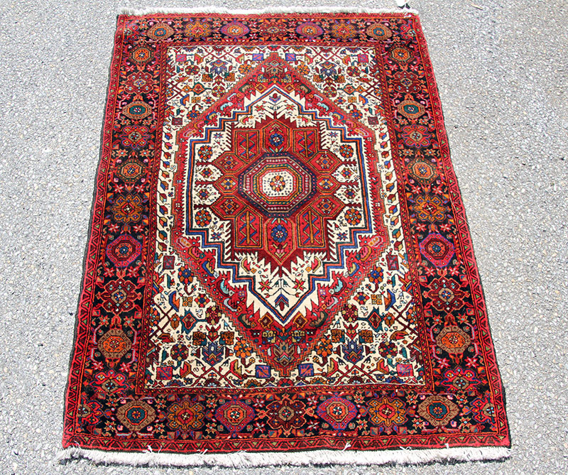 297C. Oriental Area-size Carpet, 57in. x 39in. | $94.40