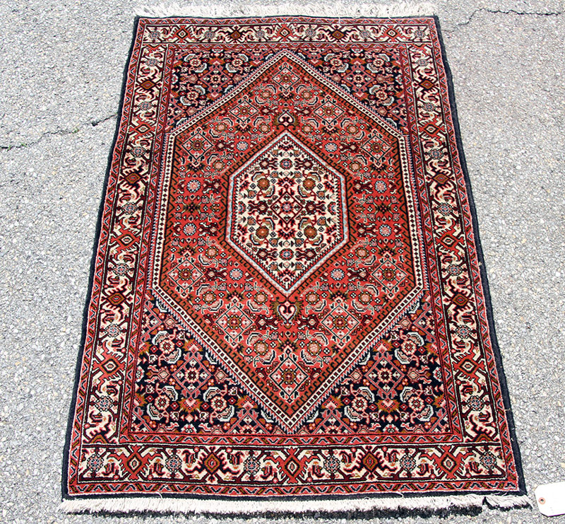 297F. Iranian Area-Size Carpet, 56in. x 36in. | $206.50