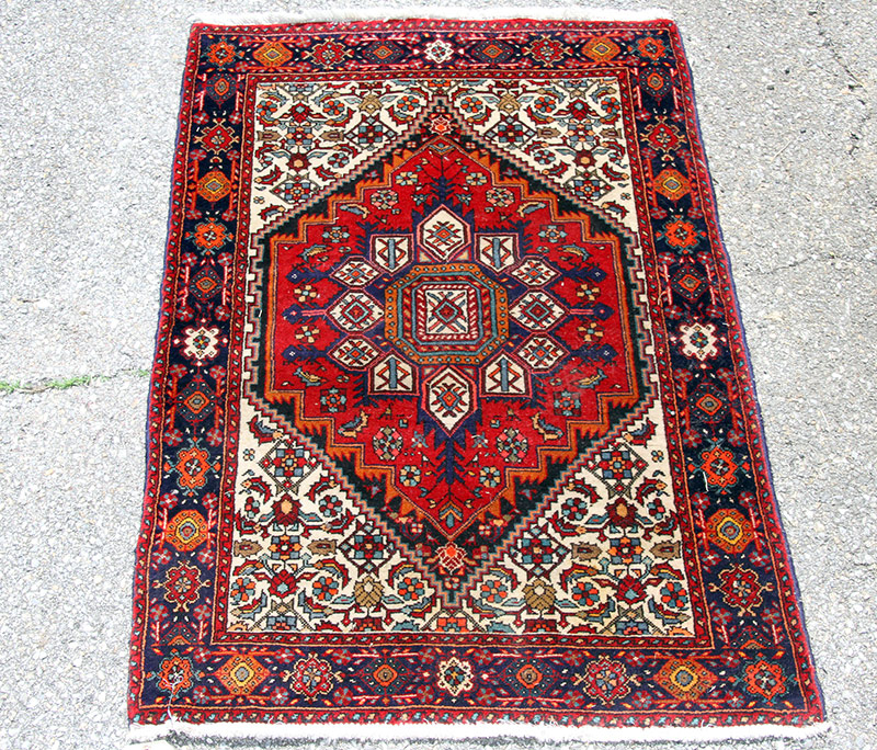 297G. Oriental Area-Size Carpet, 47in. x 30in. | $106.20
