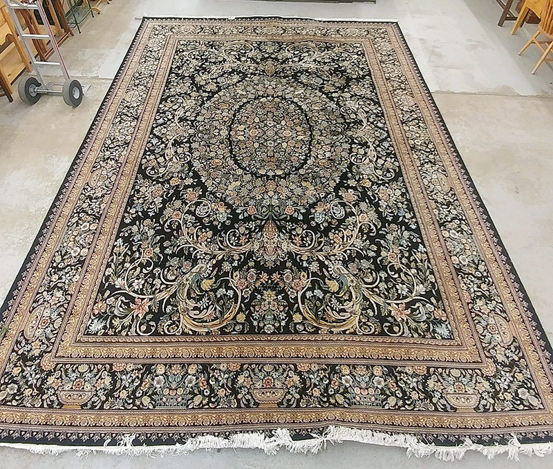 297. Pakistani Room-Size Carpet, 11ft 2in. x 15ft 8in. | $472