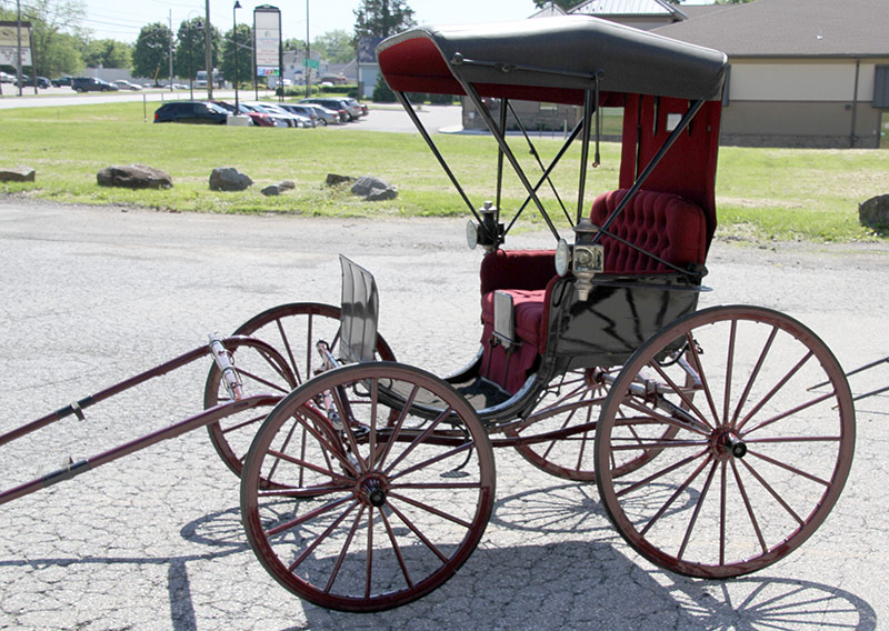 298. Antique Restored Horse-Drawn Carriage | $590