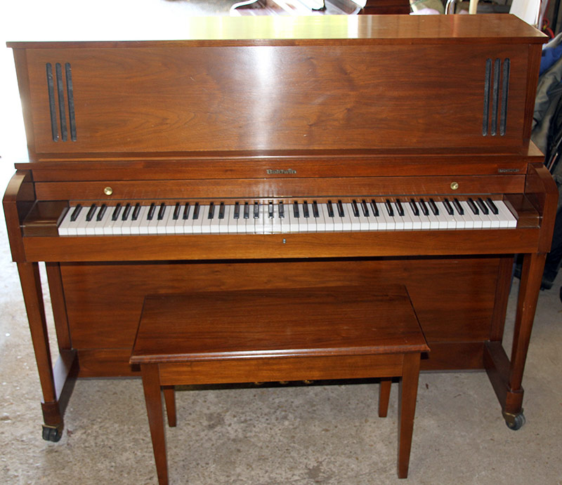 301. Baldwin Upright Piano Signed by Frank Sinatra | $399.75
