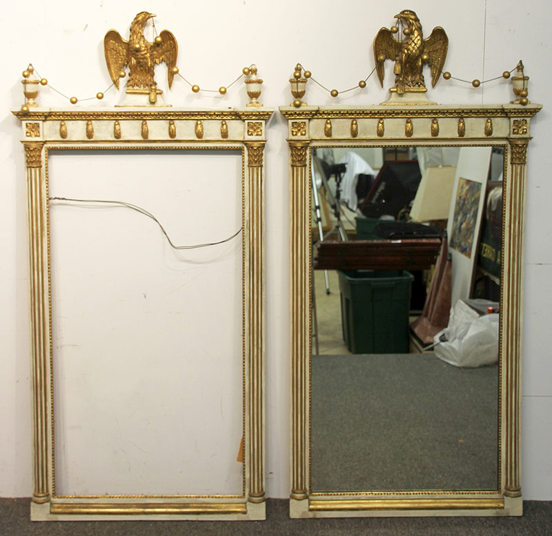 302. Pr. Friedman Brothers Mirrors with Eagle Crests | $590