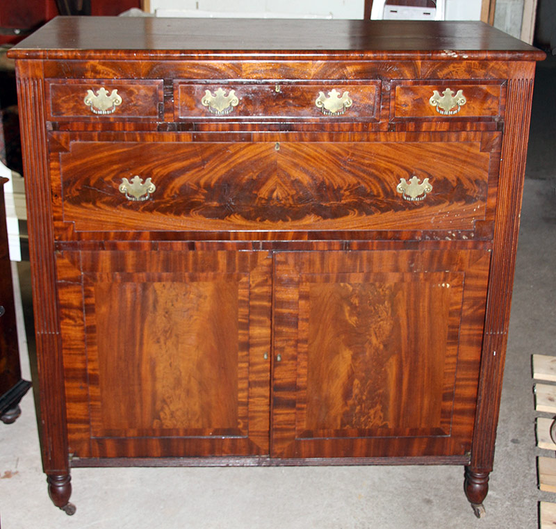 303. Empire Mahogany Cabinet/Jelly Cupboard | $153.75
