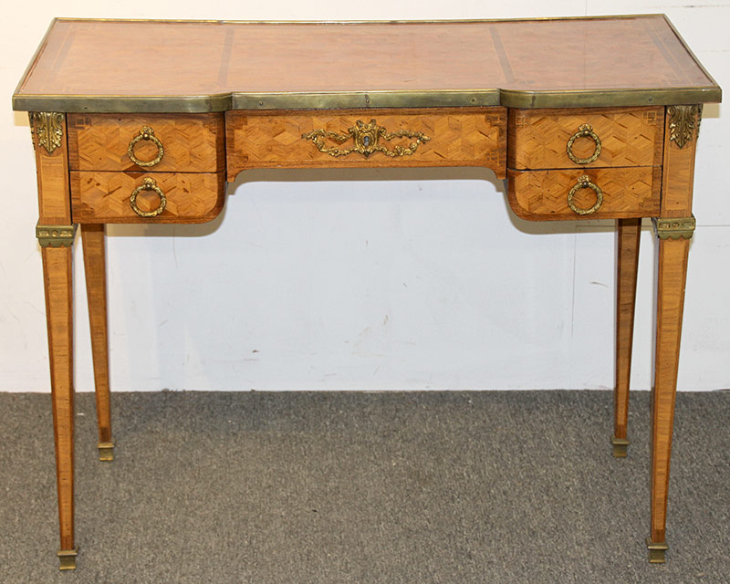 304. French Parquetry Desk | $184.50