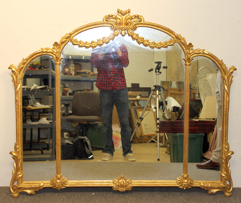310. La Barge Gilt Over-Mantel Mirror | $354