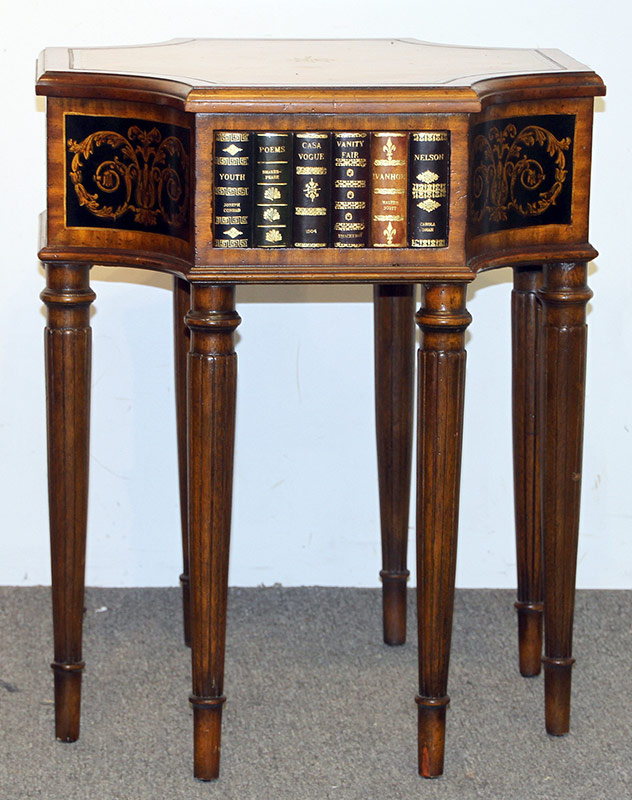 312. Maitland Smith Sheraton-style Library Table | $522.75