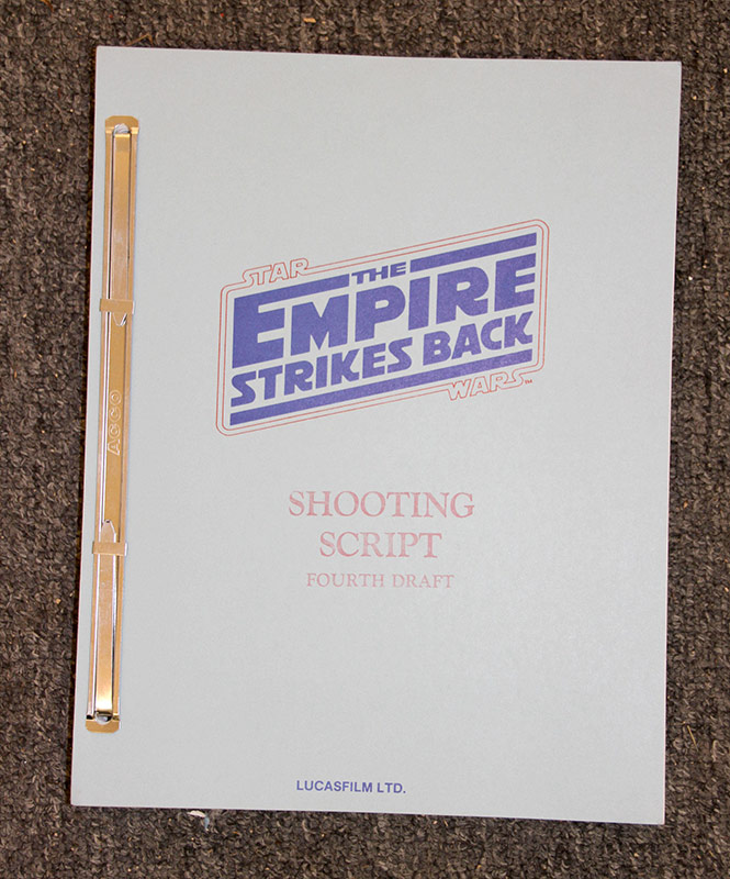 322. Star Wars: The Empire Strikes Back Shooting Script | $553.50