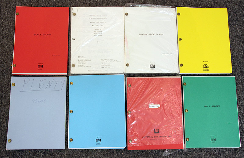 329. Lot of Eight Film Scripts: Batman, etc. | $177