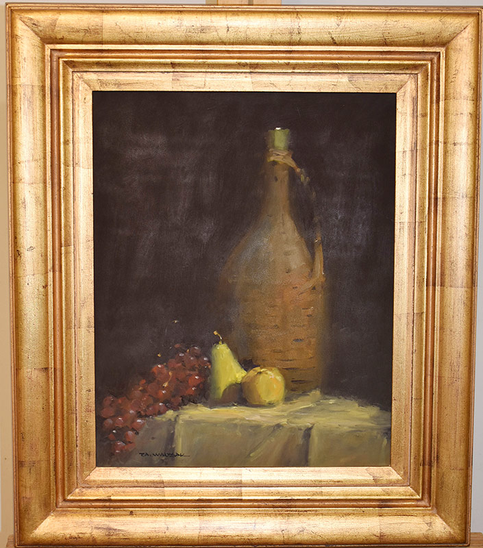 49. Robert Waltsak. Oil/Panel, Still Life. $147.50