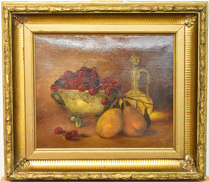 54. Richard Creifelds. Oil/Canvas, Still Life. $295