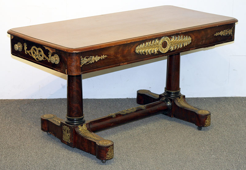 86. French Empire Library or Sofa Table. $501.50