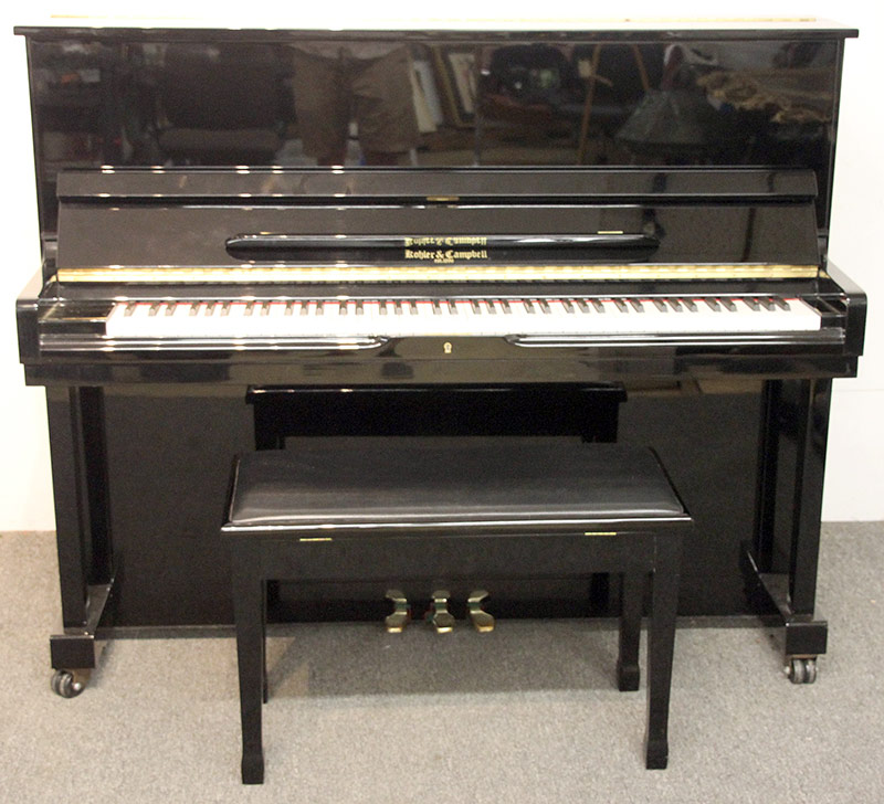 121. Kohler & Campbell Black Lacquered Studio Piano. $649