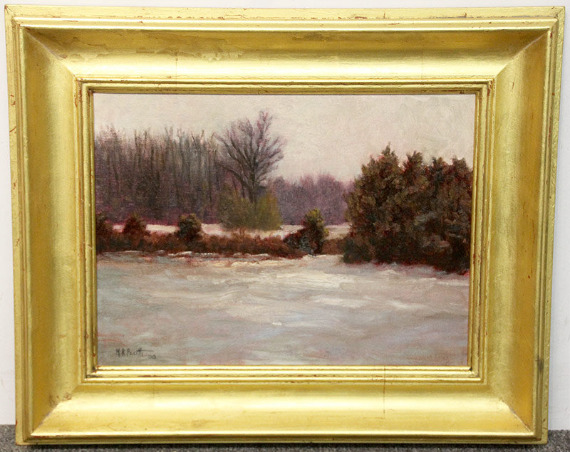 141. Michael Pacitti. Oil/Canvas, Landscape. $86.10