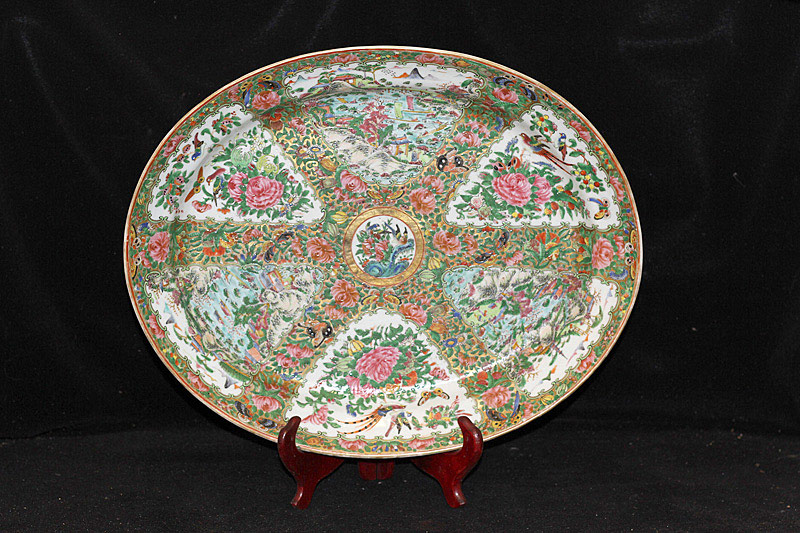 376. Chinese Rose Medallion Platter. | $184.50