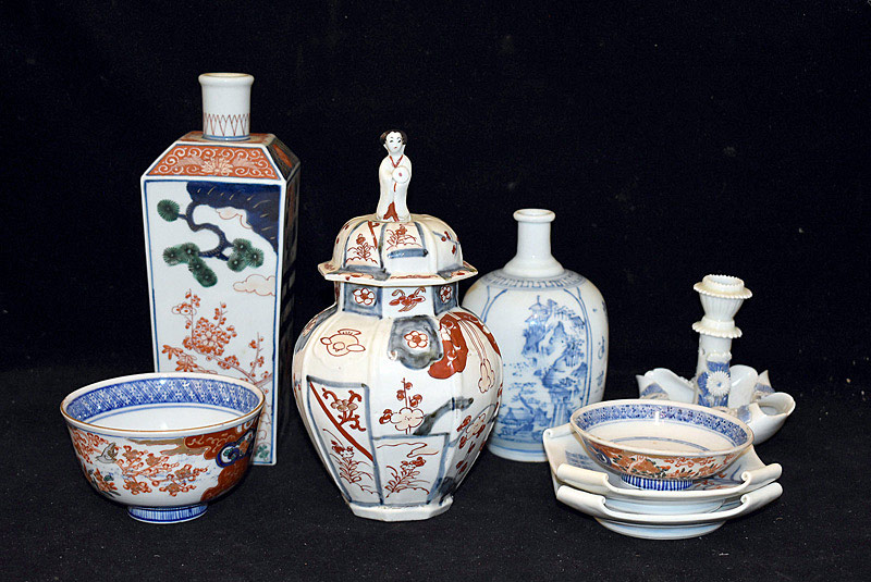 413. Eight Pieces of Japanese Porcelain	. | $338.25