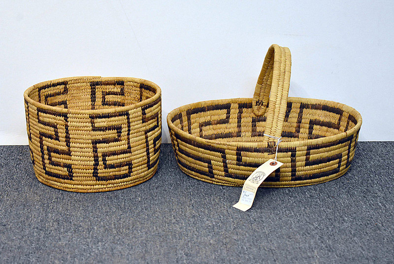 528. Two Native American Pima Baskets. | $118