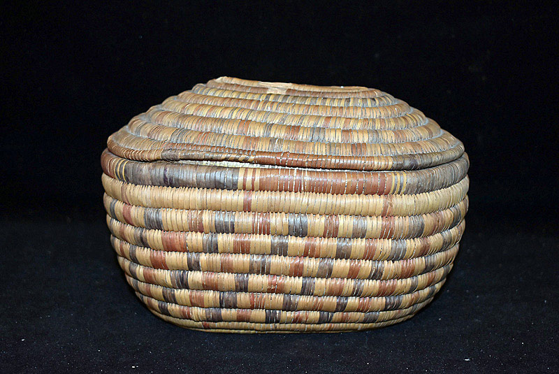 529. Native American Lidded Basket. | $35.40