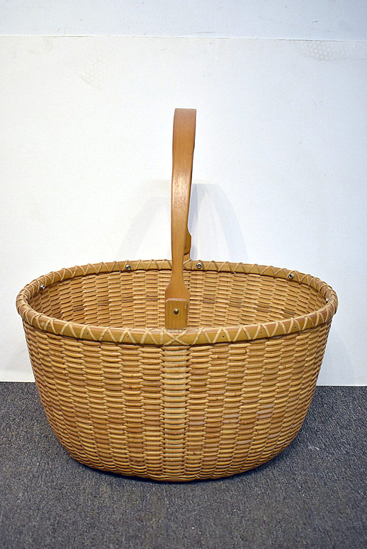 560. Arthur R. Martin. Large Nantucket Basket, dated \'91. | $106.20