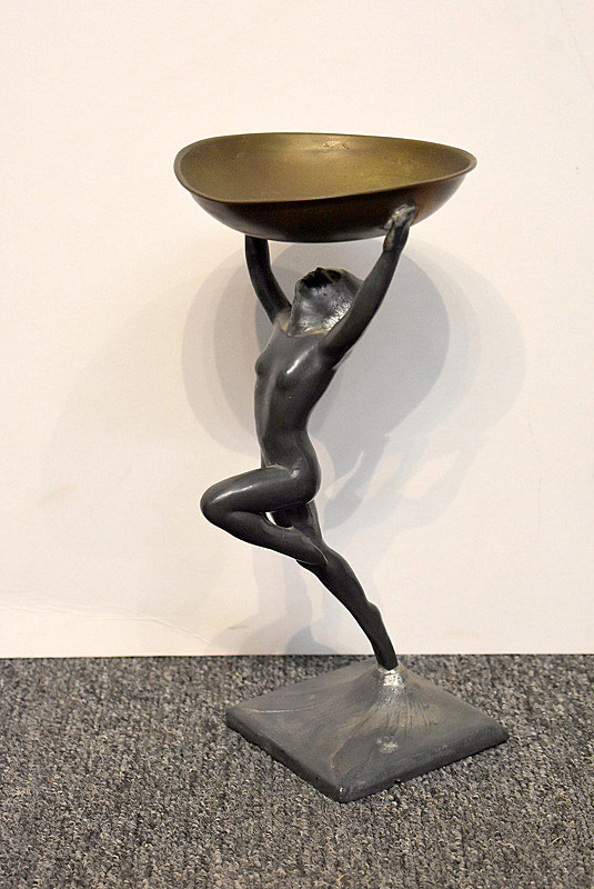 601. Art Deco Figural Ashtray. | $147.50