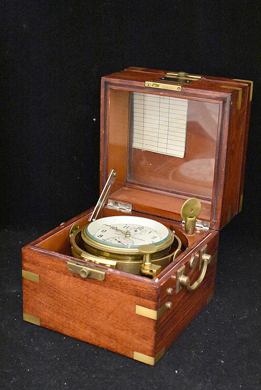 617. Russian Chronometer with Case. | $492