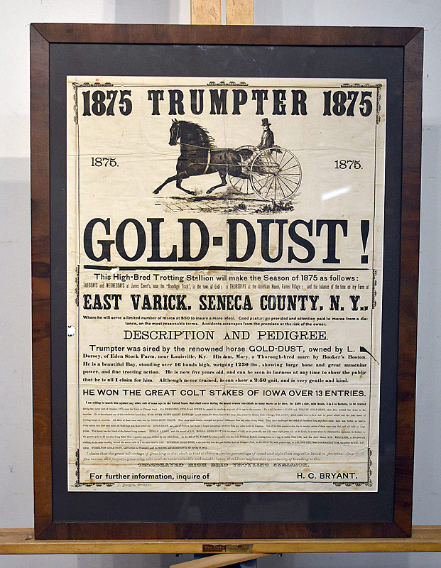 668. 1875 Trumpter Horse Racing Broadside. | $129.80